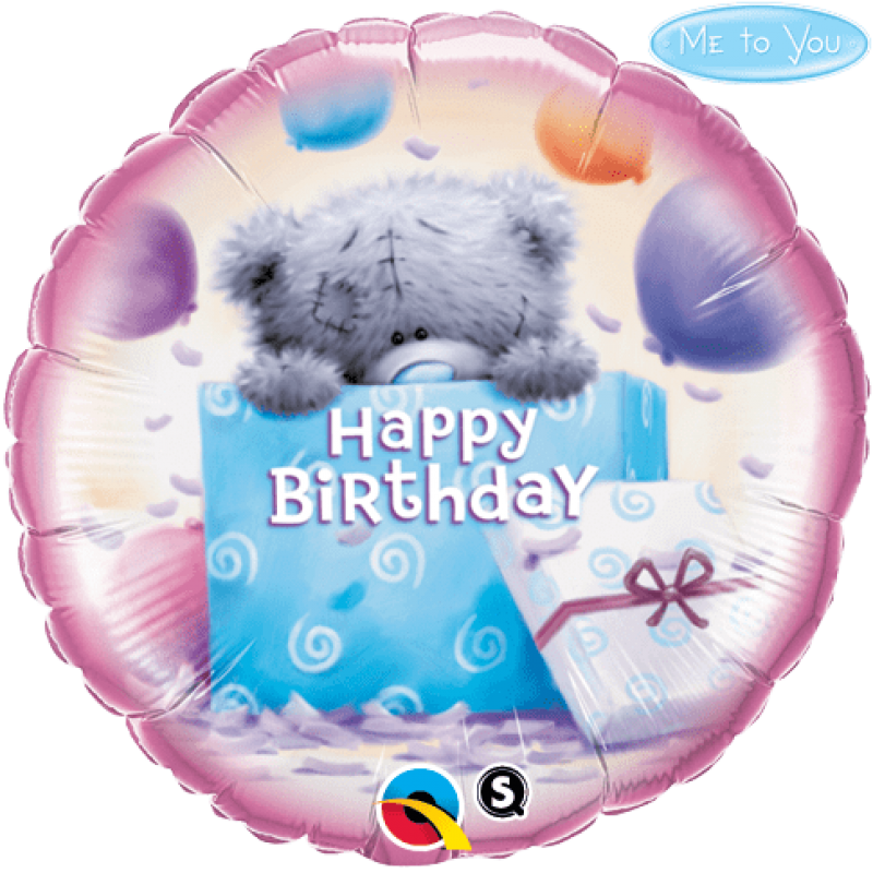 "18"" Foil Birthday Balloon with Helium"